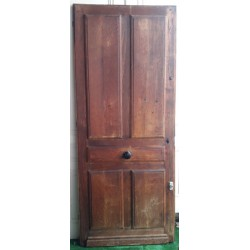 Old oak entrance door 1925