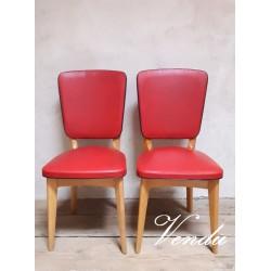 Paire de chaises vintages...