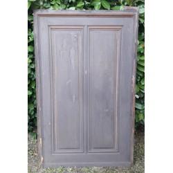 XIX ° wood panel, painted