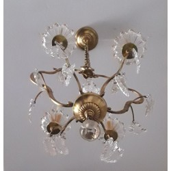 Cage chandelier Louis XV...