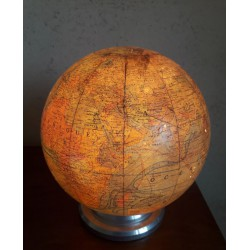 Illuminated earth globe J....