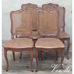 Série de 6 chaises...