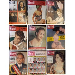 Paris Match anciens...