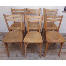 Série de 6 chaises de...