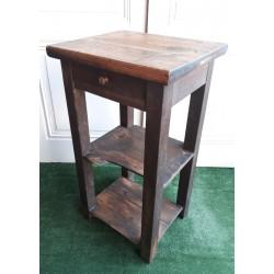 Petite table haute en chêne...